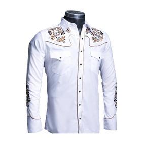 f7da0d3949e01 Camisa Rafael Amaya 083ca01 Vaquera Señor De Los Cielos Blan