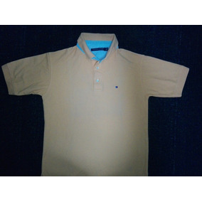 aa78f03b9519a Camisa Polo Naranja Marca Tommy Hilfiger Talla Chica Nueva
