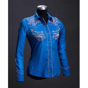 9a7b91555b715 Camisa Vaquera Rafael Amaya - Camisas de Mujer en Mercado Libre México