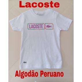 417ddbdab2fae Lacoste Infantil - Camisas no Mercado Livre Brasil