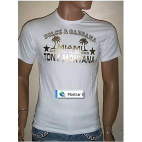 7de0ad73d0c0d Camiseta Dolce Gabbana Tony Montana - Calçados
