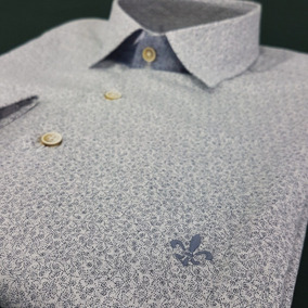 d8073e7f82d96 Camisa Dudalina Seda Masculina - Calçados