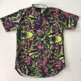 0a9b3afda7 Camisa Florida Hocks - Camisa Manga Curta Masculino no Mercado Livre Brasil