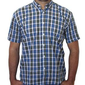 d5639384f Camisa Wrangler De Manga Curta Xadrez Pequeno 8023