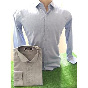 ca1c9f57f4 Kit 3 Camisas Masculinas Social Slim Camiseta Blusa Regata