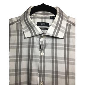 9e38e9c339f2e Camisa De Cuadros Hugo Boss Original. Nextaporter