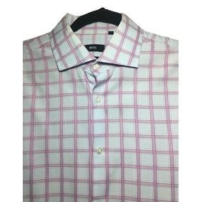 f33c82c68a978 Camisa Hugo Boss Original De Cuadros. Nextaporter