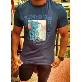 df7274ac994 Camisa T-shirt Hugo Boss Slim Fit Masculino - Original