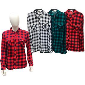 713fa960eb94e Camisa Xadrez Forrada - Camisa Casual Manga Longa no Mercado Livre ...