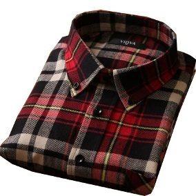 10e30d2e51d2e Kit 2 Camisas Flanela Xadrez Manga Longa Masculina Flanelada