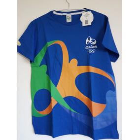 2fef63b87e8b0 Camisa Olimpiadas Rio 2016 Brasil Logomarca Jogos Time Silk