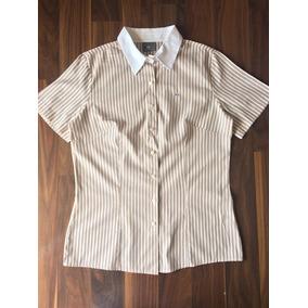 ce22a0eee2909 Camisa Social Feminina Lacoste 44 G Nova Importada Original