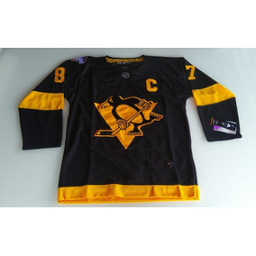 42b09be5d1f56 Camisa Nhl Pittsburgh Penguin Sidney Crosby Nova. R  189 99