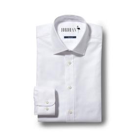 492fdd7291 Camisa Social Masculina Slim Fit Branco Algodão Egípcio