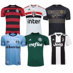 baf099deaf676 Kit 10 Camisa Times Oficial Masculino Para Revenda Atacado