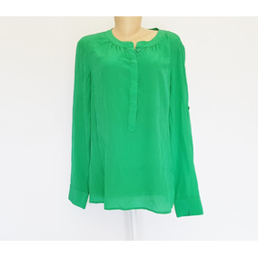 304a769c03 Blusa De Pano Mole Seda - Camisa Social no Mercado Livre Brasil