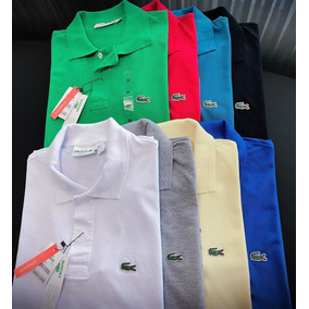 Camisas Polo Lacoste 100% Originais Made In Peru - Calçados 371ee29f6982e
