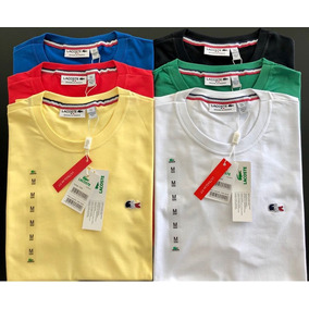 f72012ba388ca Camisa Lacoste Atacado - Camisa Masculino no Mercado Livre Brasil