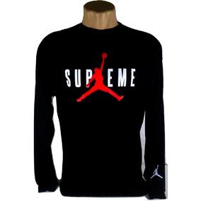 8547adf49a32d Camiseta Skate Jordan Air Supreme Swag Basquete Masculina