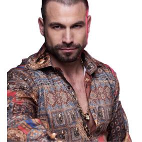 35779fa923fa9 Camisa Rafael Amaya Luxury 213 Medellin Señor De Los Cielos