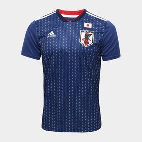 8a41e60edf4bf Camisa Seleção Japão Home 2018 S n°torcedor adidas Masculina