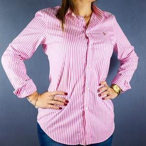 75c3bbb84b953 Camisa Social Polo Ralph Lauren Feminina - Calçados