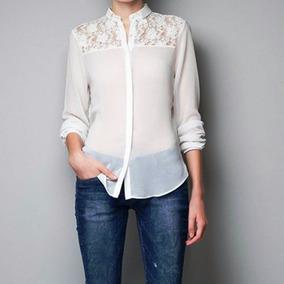 9b0b225c719d8 Camisas Gasa Mujer Del S Al 8xl Talles Grandes Fibrana Jean. 1 vendido -  Capital Federal · Camisa De Gasa Y Encaje Todos Los Talles Excelentes