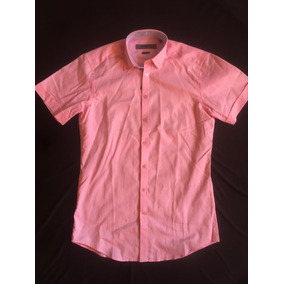 f1a96a2b066 Givenchy Camisa Manga Corta Rosa Modern Fit Talla S Original
