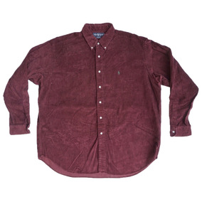 5b68246ee90 Camisa Pana Ralph Lauren Talla 3xl Original Camisola Gruesa