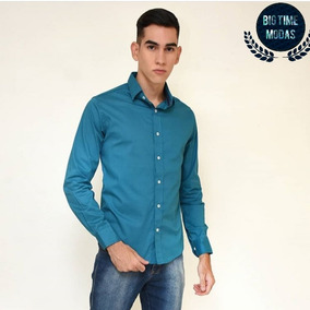 d2fd11bc33290 Kit C  6 Camisas Social 100% Algodao