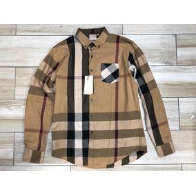 f41d559193a Cinturon Burberry Cafe En Subasta Camisas Hombre - Ropa