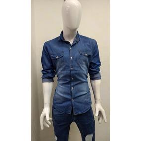 78eac8521f4 Camisa Fibra De Carbono - Camisas Casuales Manga Larga de Hombre L ...