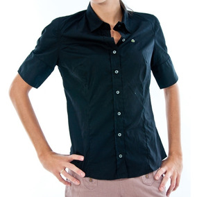 8c01caa5abca4 Camisa Social Feminina Lacoste E - Calçados