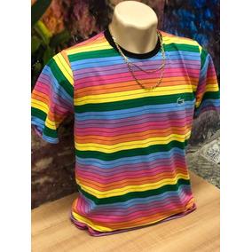 0aae8ca687654 Camisa Lacoste - Camisa Manga Curta Masculinas no Mercado Livre Brasil