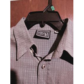 e96b0377b69a9 Camisas Versace Original Vestir Manga Larga Hombre - Ropa