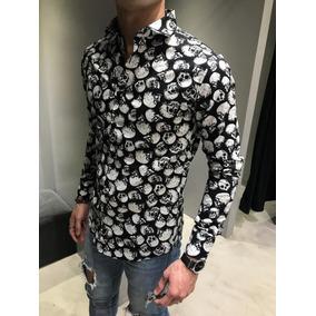 129e42c3b7c5e Camisa Calaveras Hombre - Camisas de Hombre en Mercado Libre Argentina