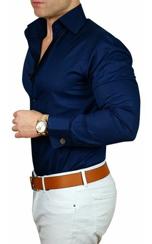 camisas a la medida o tallas en variedad colores y calidades