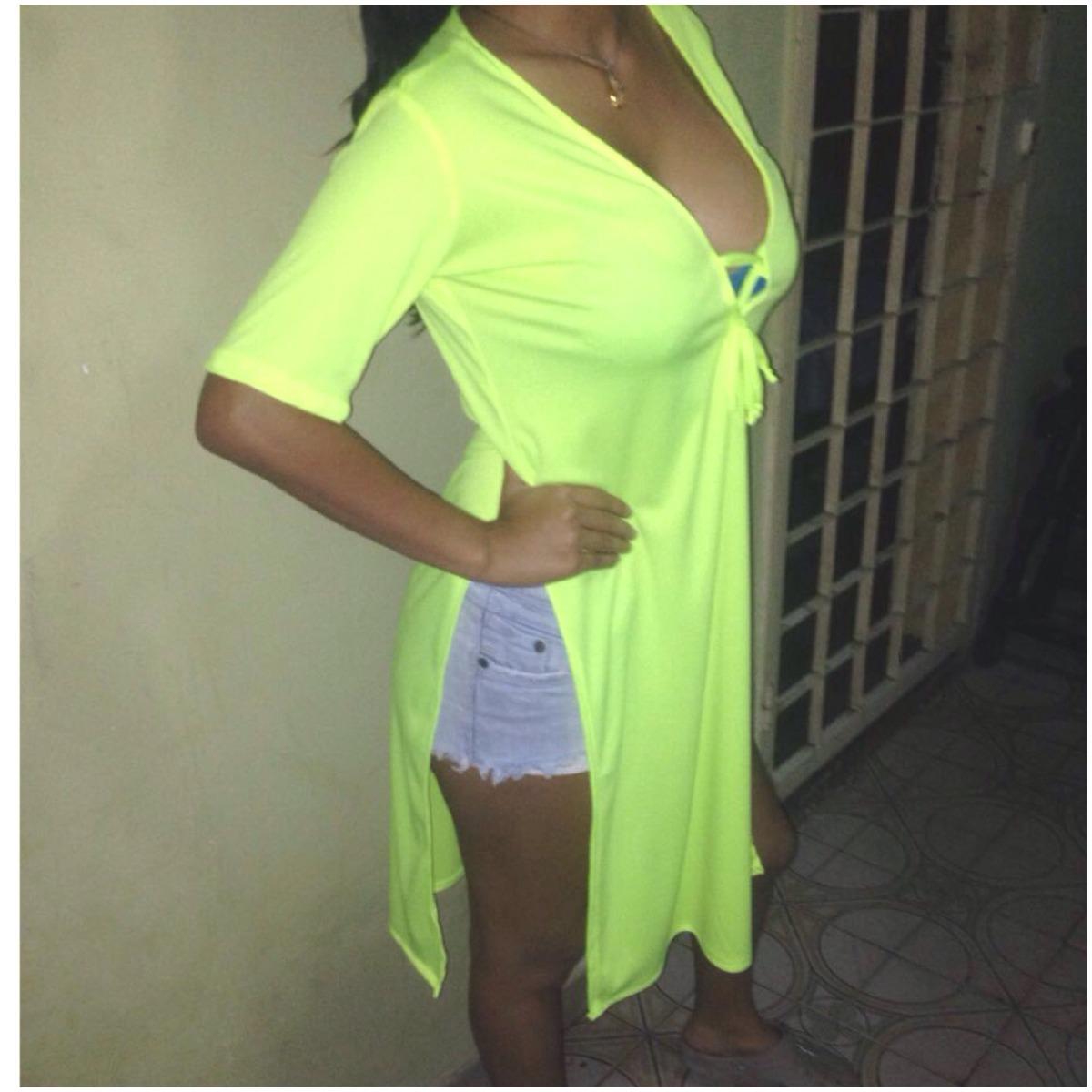 Camisas A La Moda Abierta A Los Lados - Bs. 0 725116e6220