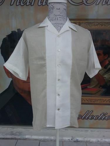 camisas algodon-seda bolichista boliche bolas rockabilly