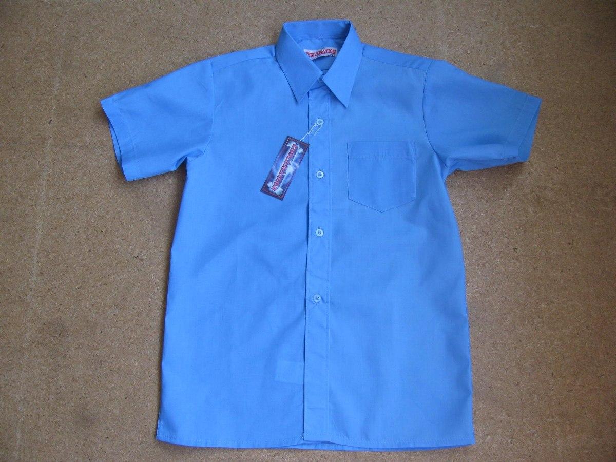 5dfaab540777b camisas azules escolares   uniformes escolares. Cargando zoom.