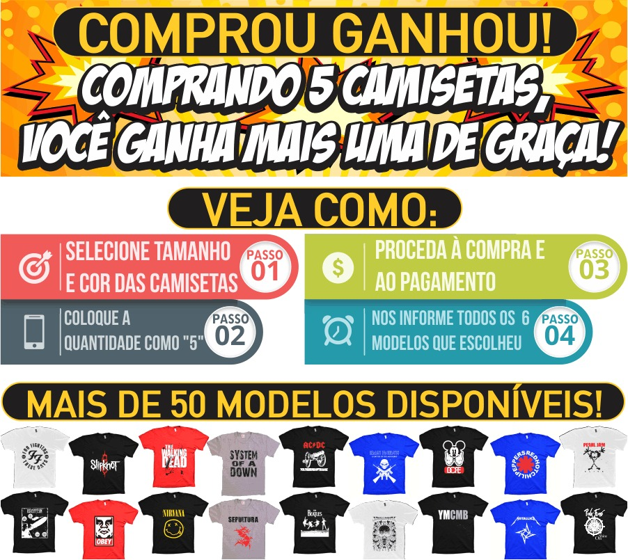 Camisas Bandas Rock - Red Hot Chili Peppers - 100%algodão - R  25,90 ... 765c448449