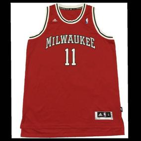 7be5aa2a6 Camisa Nba Milwaukee Bucks no Mercado Livre Brasil
