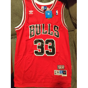 a4ff051f7b Camisa Scottie Pippen Chicago Bulls - Basquete no Mercado Livre Brasil