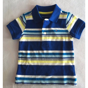 88f46f102cfa5 Camisa Polo Tommy 6-9 M Original Dos Usa