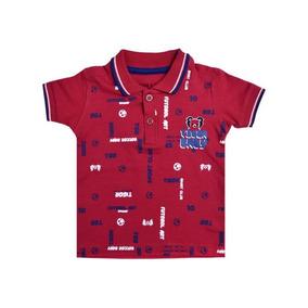 584da2a5bd8fa Camisa Polo Vermelha Tigor T.tigre Baby 10204297