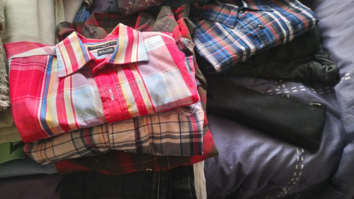 camisas bensimon manga larga. vatios modelos. originales