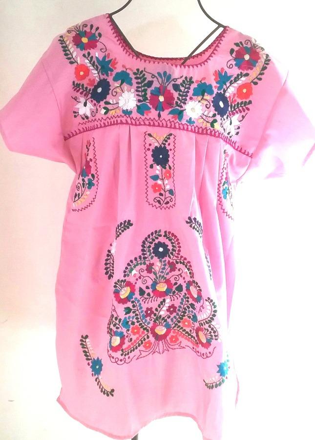 caf6899c2 Camisas Blusas Y Vestidos Mexicanos Bordados Artesanal