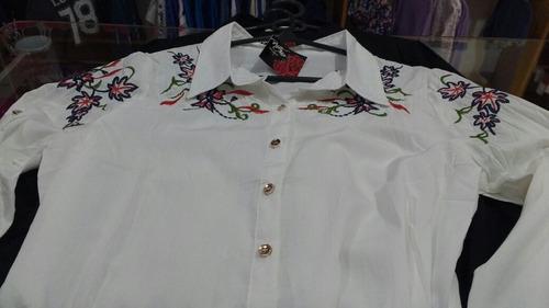 camisas bordadas hermosas