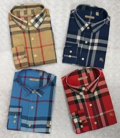 nuevo producto b1051 d7b9f Camisas Burberry Roja - Camisas, Polos y Blusas Hombre en ...