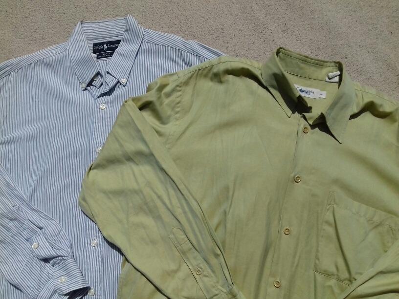 buy online 73b37 1c68c camisas calvin klein y ralph lauren m par (adidas, nike). Cargando zoom.